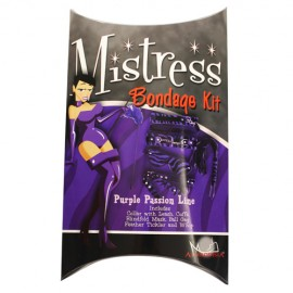 Bondage Mistress Set Purple