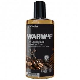 Warm Up massasjeolje - Kaffe
