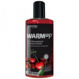 Warm Up massasjeolje - Kirsebær