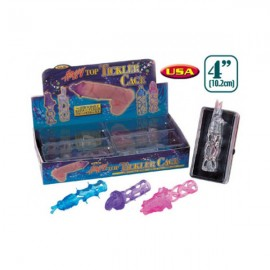 Happy Top Tickler Cage 4 pc Penis Sleeve
