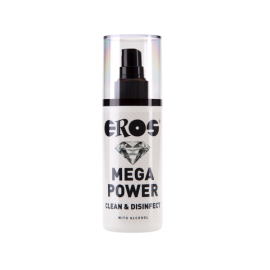 Eros Mega Power Cleaner & Disinfecter with Alchol 125 ml by Mega