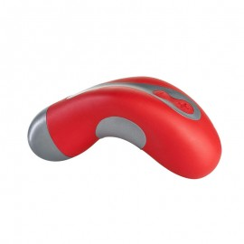 Laya Sppot Silver/Red by Fun Factory