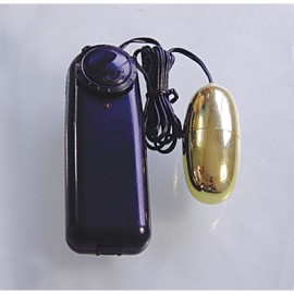 Vibrating Egg Waterproof - Silver and Black