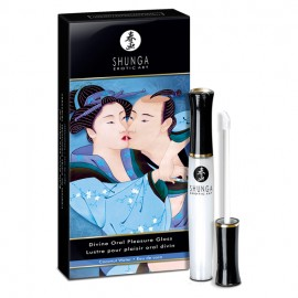Shunga Divine Oral Pleasure Lipgloss - Coconut water